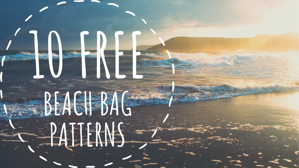10 FREE Crochet Beach Bag Patterns