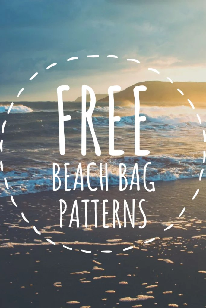 10 FREE Beach Bag Patterns to crochet