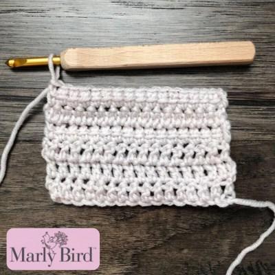 Linked Double Crochet Video Tutorial