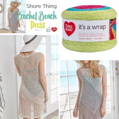 Crochet Beach Cover up-Shore Thing Dress