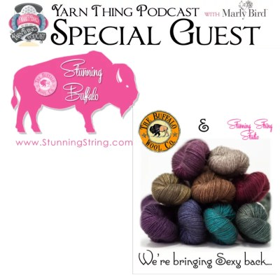 Big News from Buffalo Wool Co and Stunning String Studio