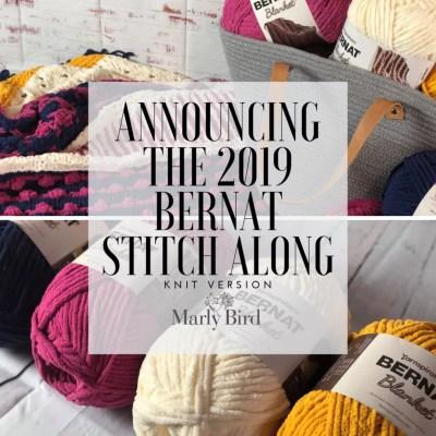2019 Bernat Stitch Along Announcement || JOANN