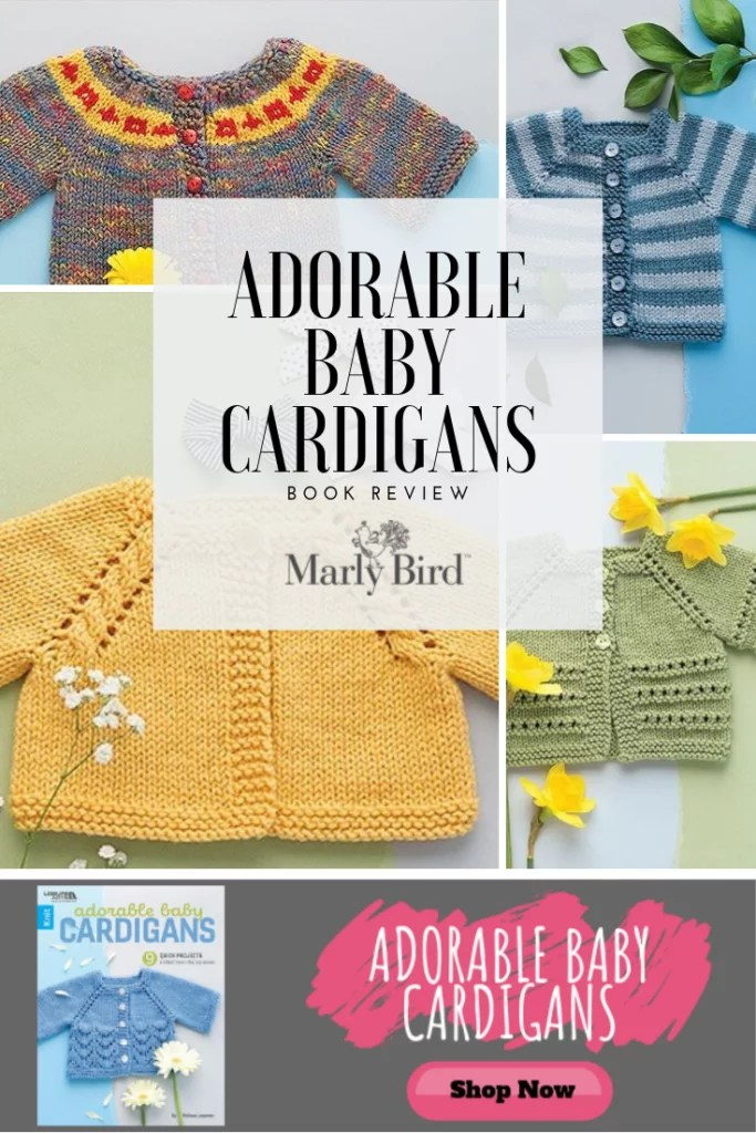 Adorable Baby Cardigans by Melissa Leapman book review