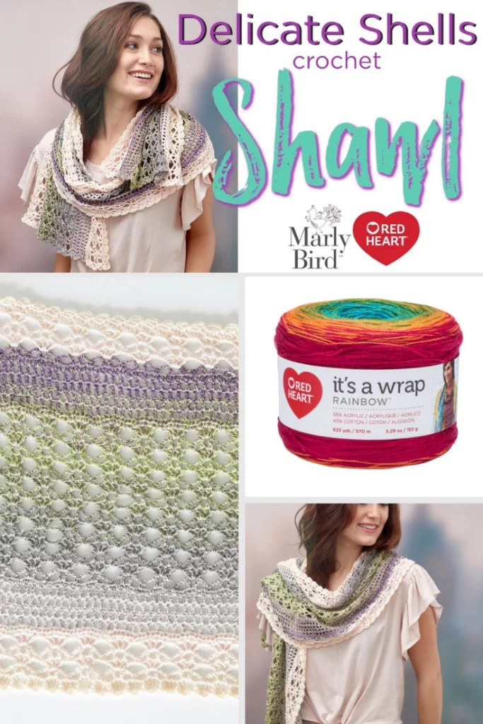 Lace Crochet Shawl - Marly Bird™