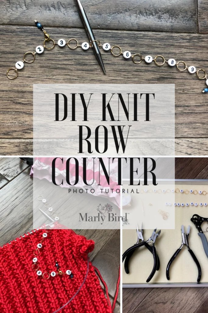 DIY Knit Row Counter Tutorial with beadaholique