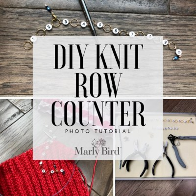 DIY Knit Row Counter