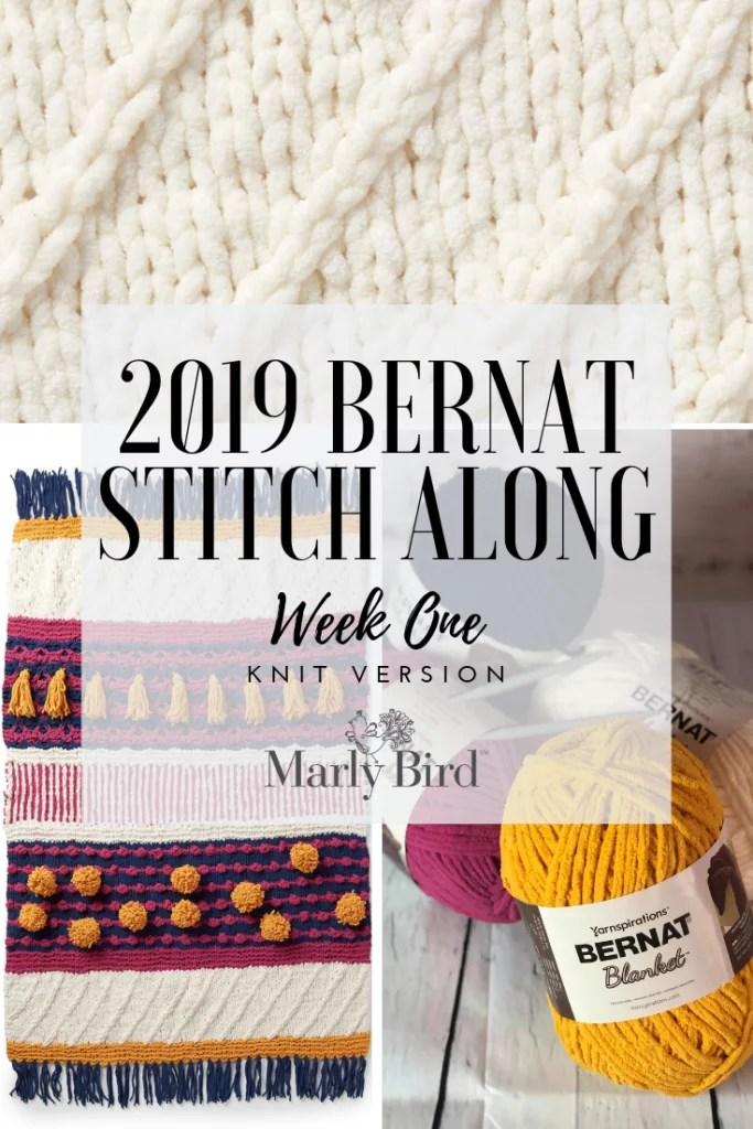 2019 Bernat Stitch Along with JOANN, Yarnspiration and Marly Bird