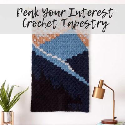 Corner to Corner Crochet Tapestry