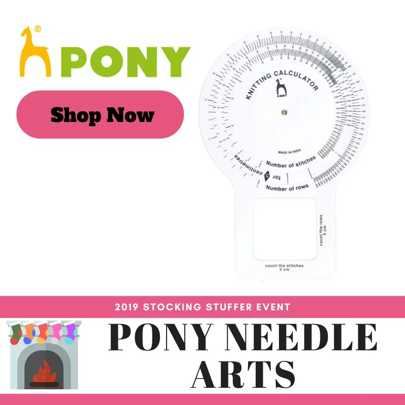 Pony Knitting Calculator gift for knitters
