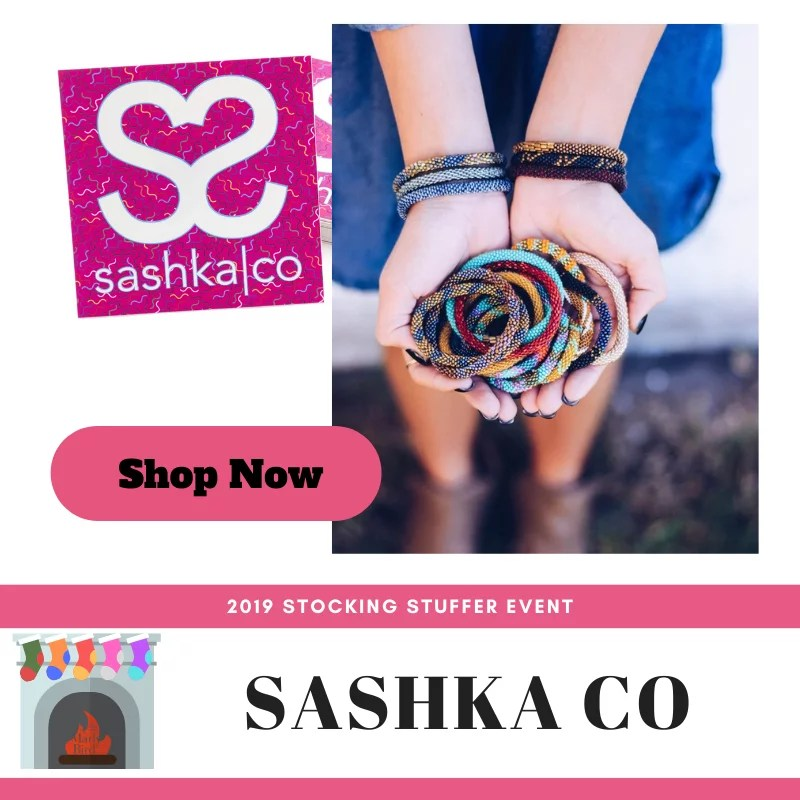 Shop Sashka Co in the 2019 Stocking Stuffer Event with Marly Bird