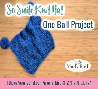Beginner Knit Hat one ball knit hat project
