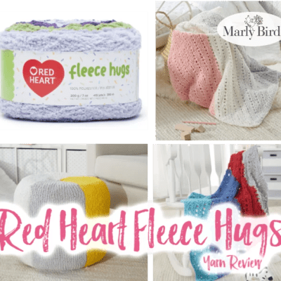 Red Heart Fleece Hugs Yarn