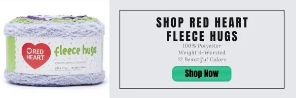 Shop Red Heart Fleece Hugs Yarn