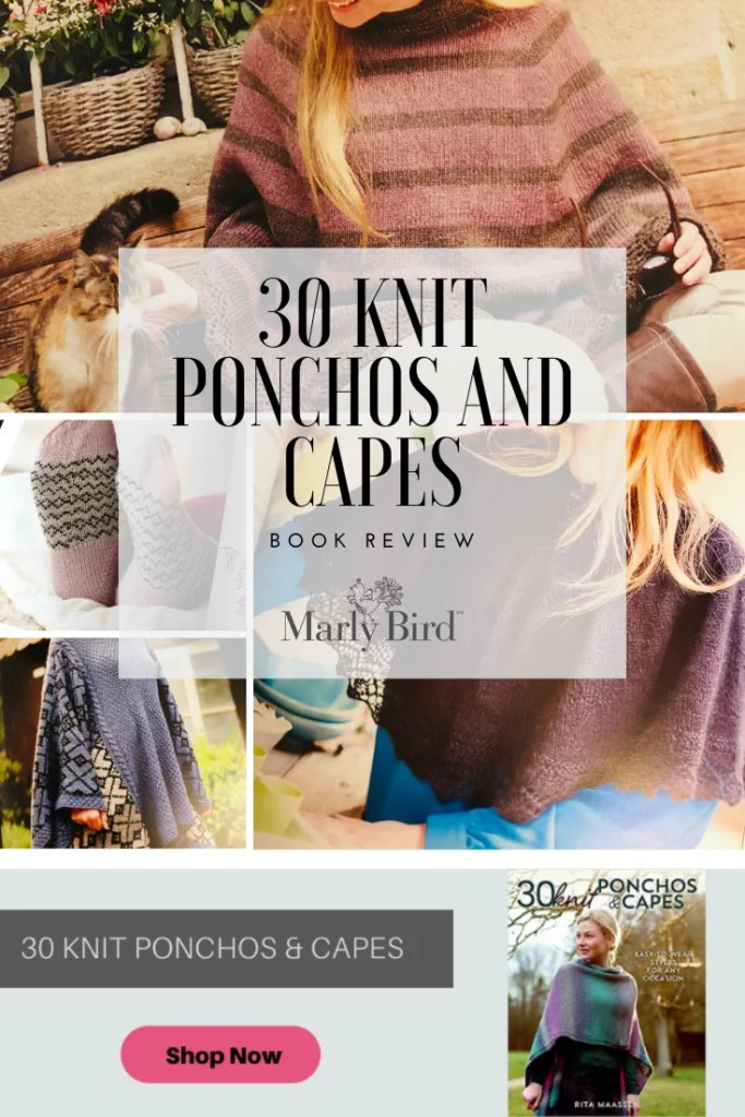30 Knit Ponchos and Capes Book