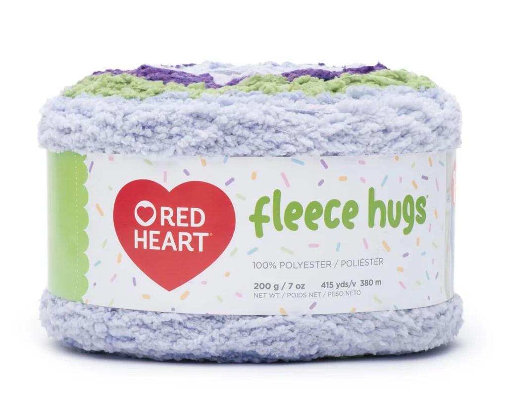 Red Heart Fleece Hugs Yarn