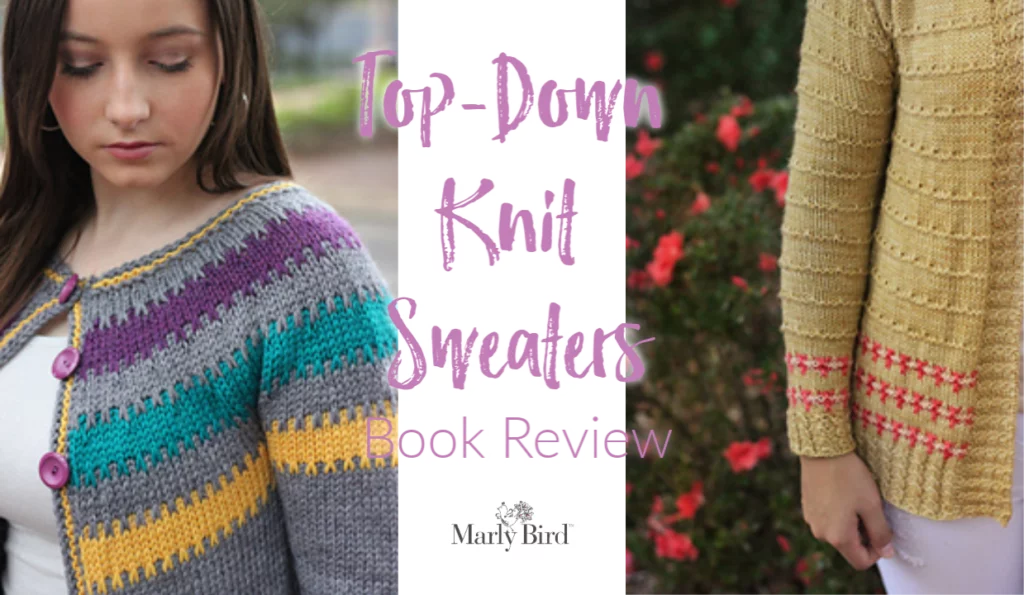 Top-down knit sweaters book review