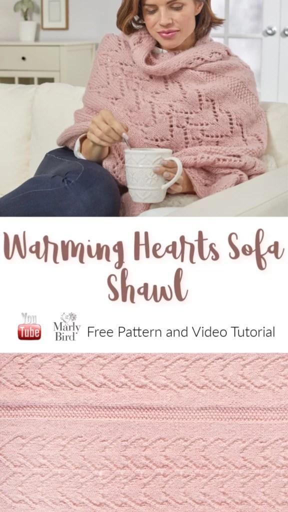 FREE Knit lace shawl