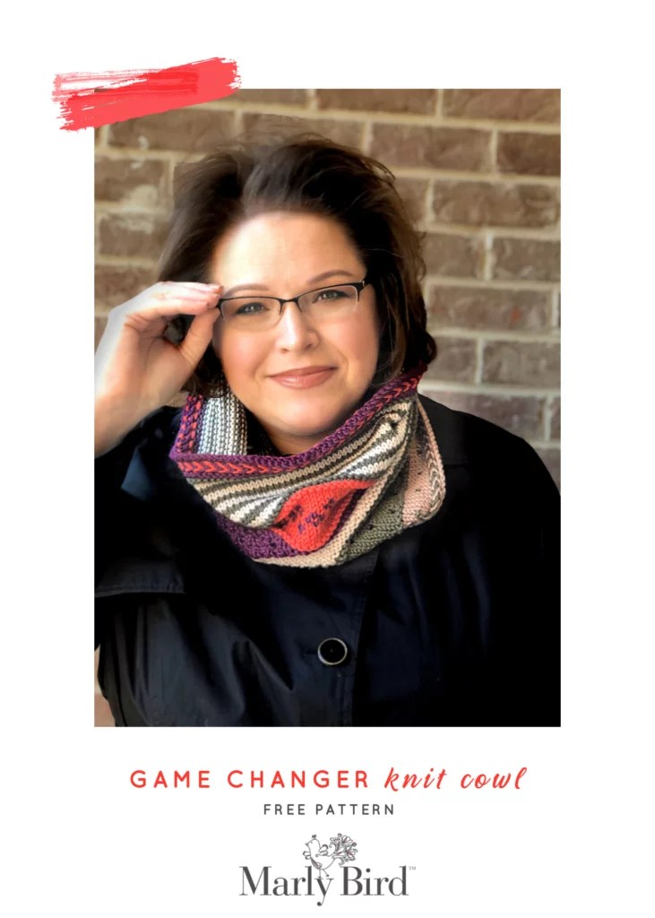 Game Changer Knit Cowl by Marly Bird - Free Pattern