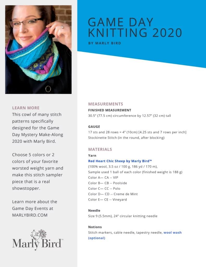 Game Day Knitting 2020 Ad Free PDF