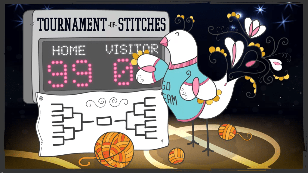2020 Tournament of Stitches Mystery Make-Along event with Marly Bird