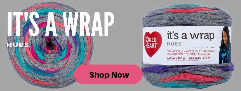 It's A Wrap Hues from Red Heart Yarns