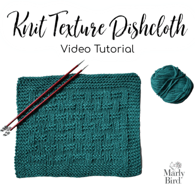 Michael's Textured Knit Dishcloth Class