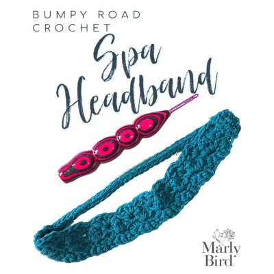 Crochet Spa Headband