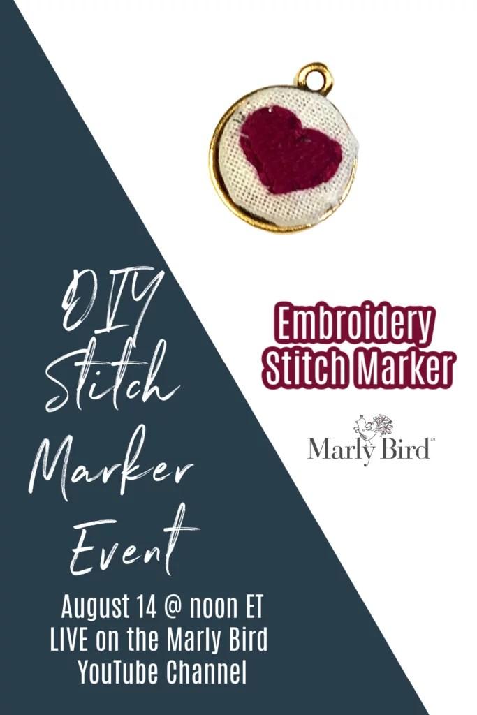 DIY Embroidery Stitch Marker Tutorial