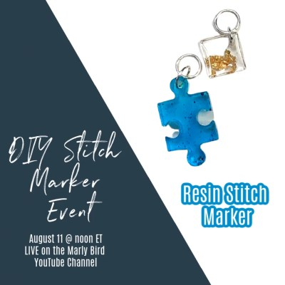 DIY Resin Stitch Markers
