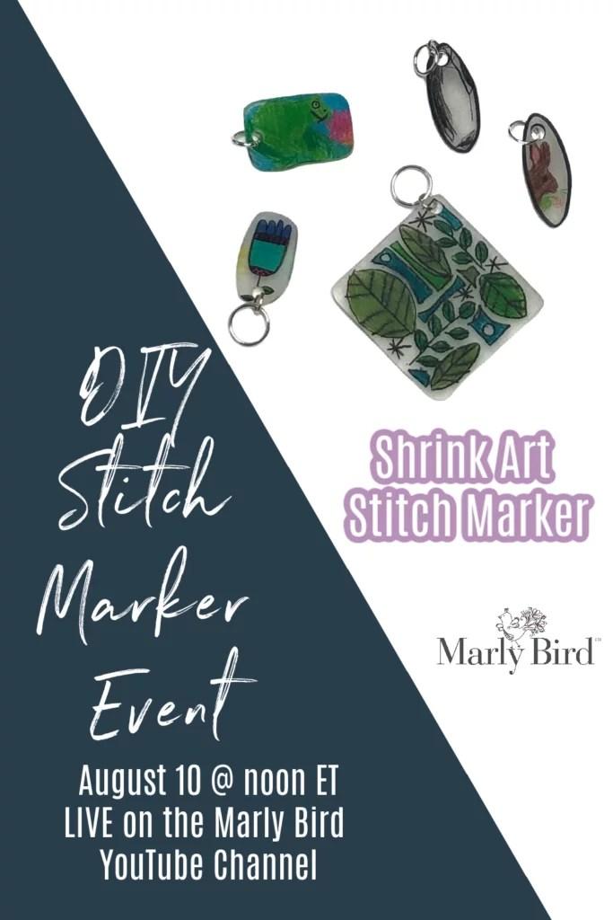 DIY Shrink Art Stitch Markers
