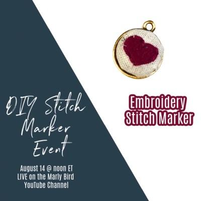 DIY Embroidery Stitch Marker