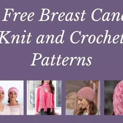21 Free Breast Cancer Patterns to Knit and Crochet