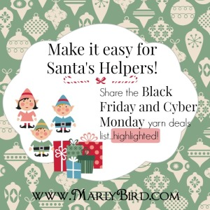 HappyHolidaysPost_santa helper_Black Friday and Cyber Monday Deals for the Yarn Industry at marlybird.wpengine.com
