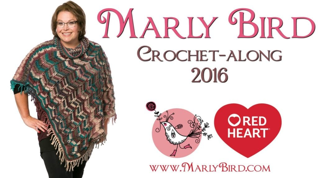 Marly Bird 2016 Crochet Along-Popular Poncho