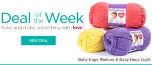 Red Heart Deal of the Week-Baby Hugs