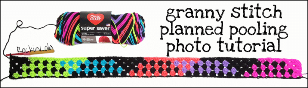 Granny Stitch Planned Pooling Crochet