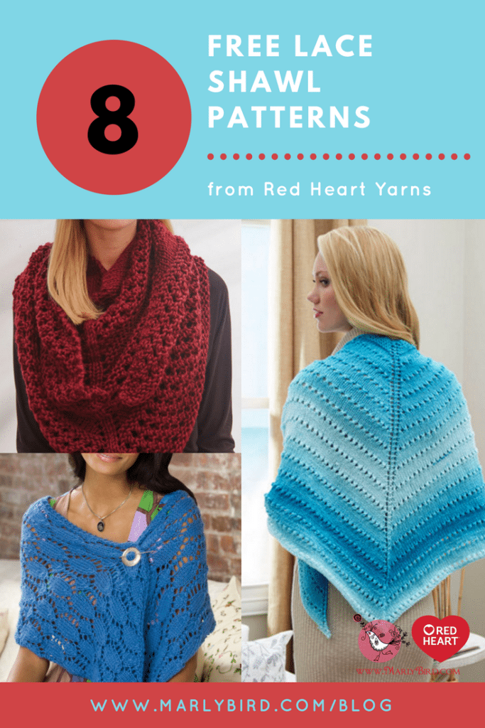 8 Free Knit Lace Shawl Patterns