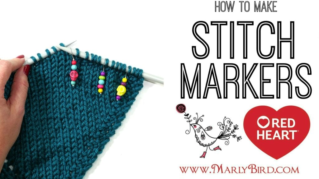 How to make stitch markers with Marly Bird