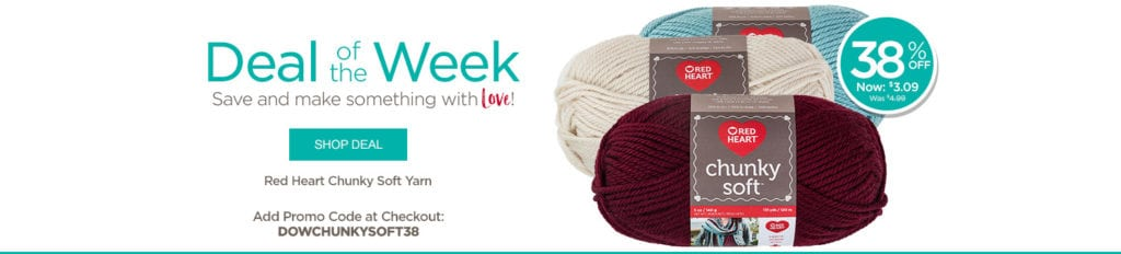 Red Heart Deal of the Week