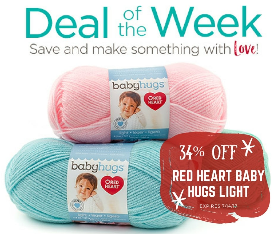 Red Heart Baby Hugs Light Deal of the week