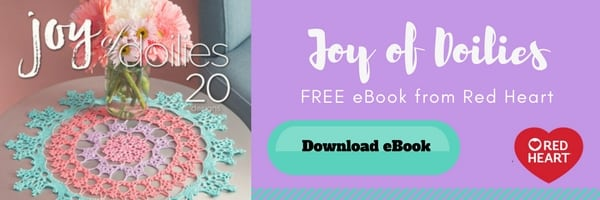Free eBook from Red Heart of Crochet Doilies