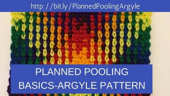 Planned Pooling Crochet Basics-Argyle Pattern