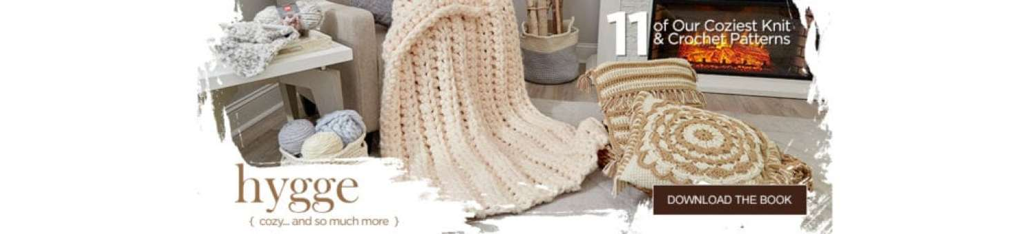 FREE Hygge Patterns from Red Heart