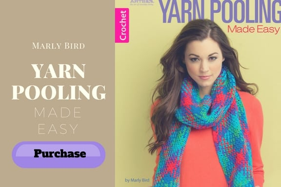 Purchase your copy of Marly Bird's New Book: Yarn Pooling Made Easy