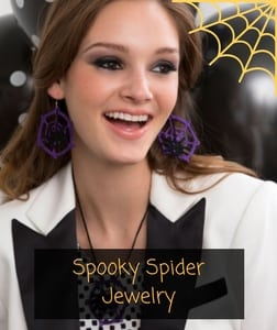 Red Heart Free Pattern Spooky Spider Jewelry
