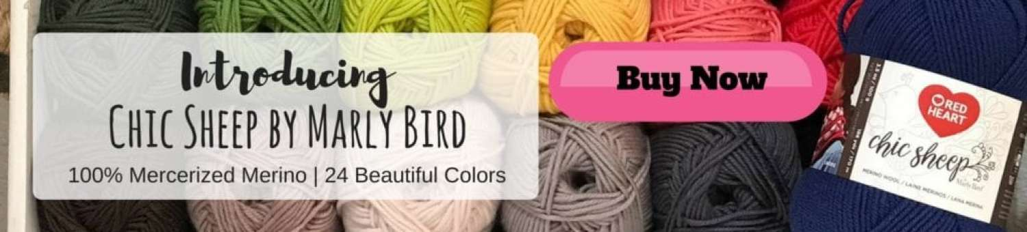 Chic Sheep by Marly Bird-NEW yarn from Red Heart