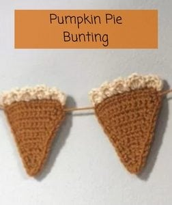 Pumpking Pie Bunting