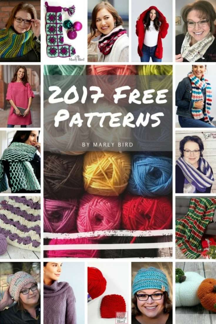 2017 FREE Patterns by Marly Bird