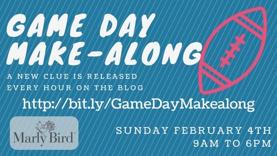 Marly Bird Game Day Make-along Crochet Version