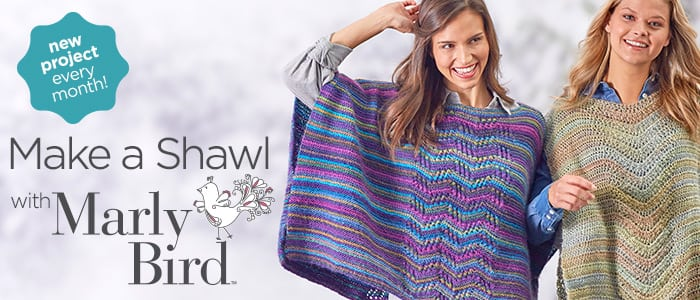 Make a Shawl with Marly Bird